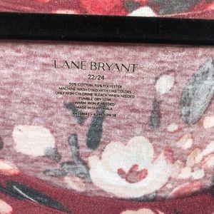 Lane Bryant Tops - Lane Bryant Floral Top